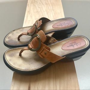 Ladies Cole Haan leather sandals 7.5B